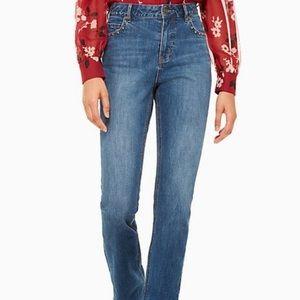 Kate Spade ♠️ studded  jeans nwot